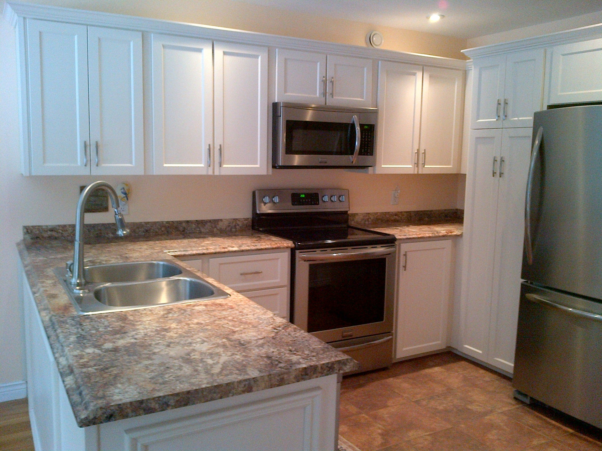 KItchen Refacing Before and After s by Robert Stack